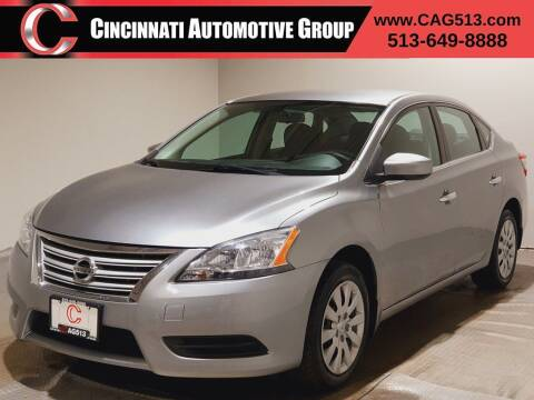 2014 Nissan Sentra for sale at Cincinnati Automotive Group in Lebanon OH