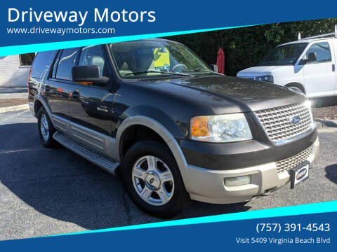 2005 Ford Expedition for sale at Driveway Motors in Virginia Beach VA