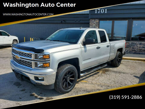 2014 Chevrolet Silverado 1500 for sale at Washington Auto Center in Washington IA