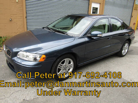 2007 Volvo S60 for sale at Dan Martin's Auto Depot LTD in Yonkers NY