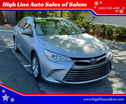 2017 Toyota Camry Hybrid for sale at High Line Auto Sales of Salem in Salem NH