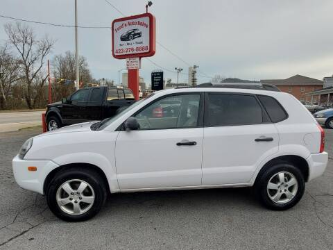 2008 Hyundai Tucson for sale at Ford's Auto Sales in Kingsport TN