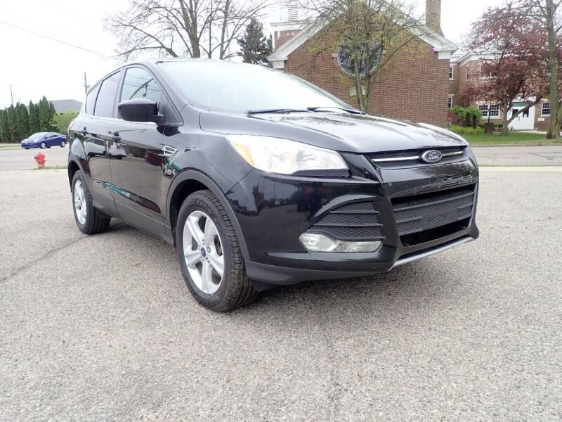 2014 Ford Escape for sale at Marvel Automotive Inc. in Big Rapids MI