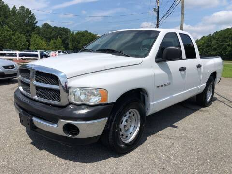 2005 Dodge Ram Pickup 1500 for sale at CVC AUTO SALES in Durham NC