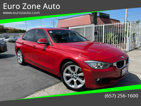 2014 BMW 3 Series for sale at Euro Zone Auto in Stanton CA