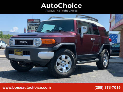 2007 Toyota FJ Cruiser for sale at AutoChoice in Boise ID