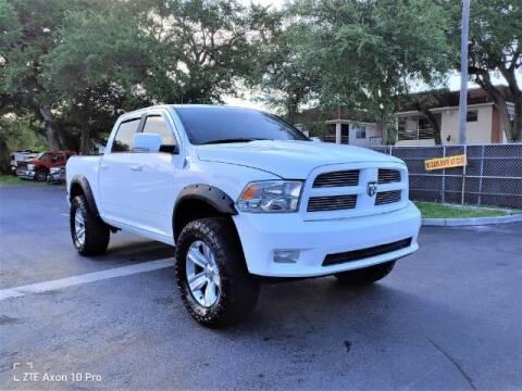 2010 Dodge Ram Pickup 1500 for sale at Start Auto Liquidation Center in Miramar FL