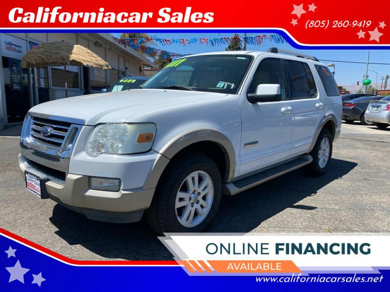 2007 Ford Explorer for sale at Californiacar Sales in Santa Maria CA