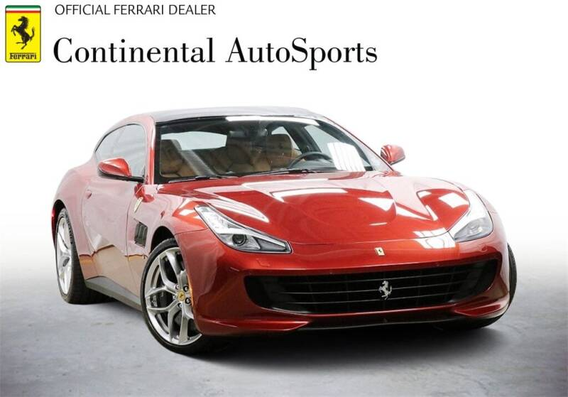 2018 Ferrari GTC4Lusso T for sale at CONTINENTAL AUTO SPORTS in Hinsdale IL