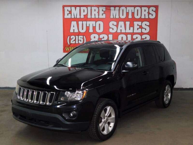 2015 Jeep Compass for sale at EMPIRE MOTORS AUTO SALES in Philadelphia PA