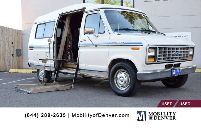 1987 Ford E-150 for sale at CO Fleet & Mobility in Denver CO