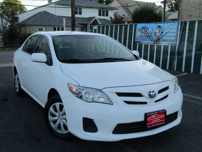 2011 Toyota Corolla for sale at The Auto Network in Lodi NJ