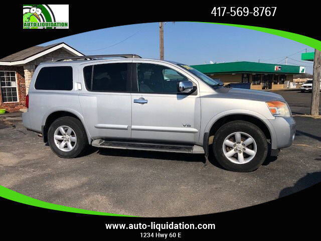 2008 Nissan Armada for sale at Auto Liquidation in Springfiled MO