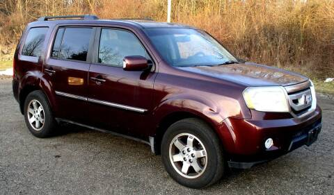 2009 Honda Pilot for sale at Angelo's Auto Sales in Lowellville OH