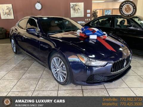 2015 Maserati Ghibli for sale at Amazing Luxury Cars in Snellville GA