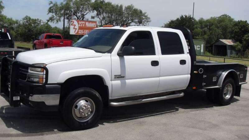 2006 Chevrolet Silverado 3500 for sale at 277 Motors in Hawley TX