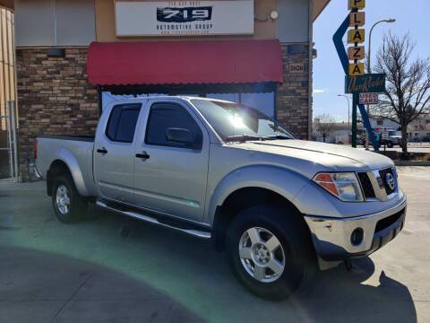 2008 Nissan Frontier for sale at 719 Automotive Group in Colorado Springs CO