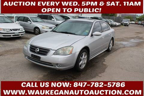 2004 Nissan Altima for sale at Waukegan Auto Auction in Waukegan IL