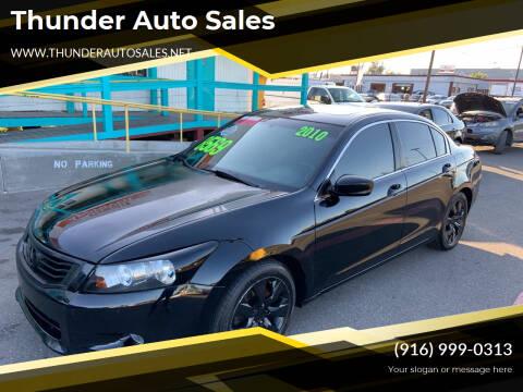 2010 Honda Accord for sale at Thunder Auto Sales in Sacramento CA