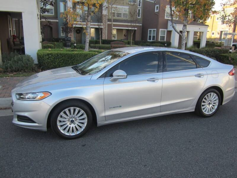 2016 Ford Fusion Hybrid for sale at PREFERRED MOTOR CARS in Covina CA