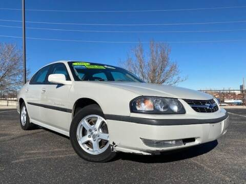 2003 Chevrolet Impala for sale at UNITED Automotive in Denver CO