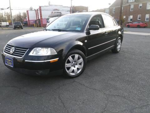 2002 Volkswagen Passat for sale at Nerger's Auto Express in Bound Brook NJ
