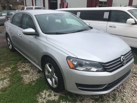 2012 Volkswagen Passat for sale at Bay City Auto's in Mobile AL