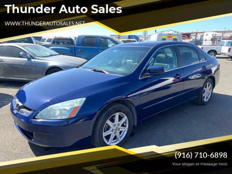 2004 Honda Accord for sale at Thunder Auto Sales in Sacramento CA