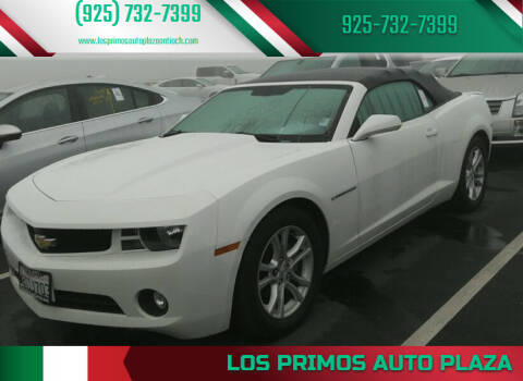 2013 Chevrolet Camaro for sale at Los Primos Auto Plaza in Antioch CA
