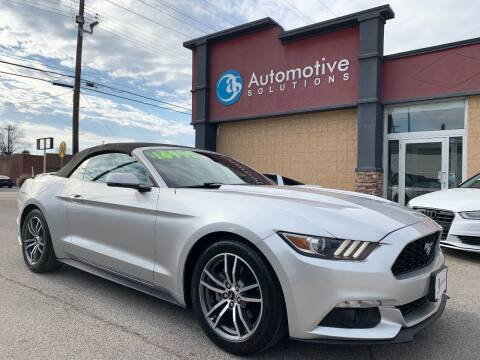 2015 Ford Mustang for sale at Automotive Solutions in Louisville KY