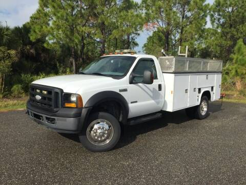 2007 Ford F-550 Super Duty for sale at VICTORY LANE AUTO SALES in Port Richey FL