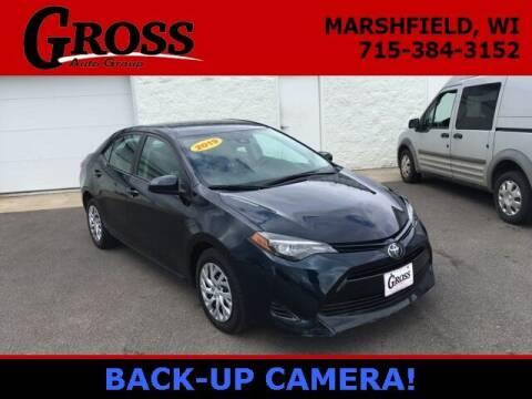2019 Toyota Corolla for sale at Gross Motors of Marshfield in Marshfield WI