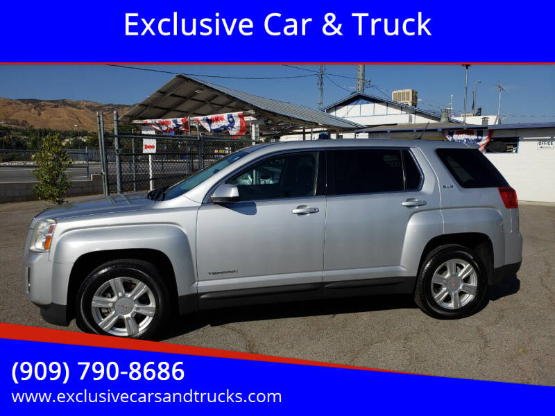 2014 GMC Terrain for sale at Exclusive Car & Truck in Yucaipa CA