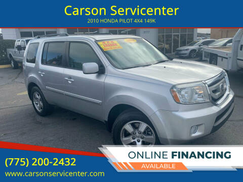 2010 Honda Pilot for sale at Carson Servicenter in Carson City NV