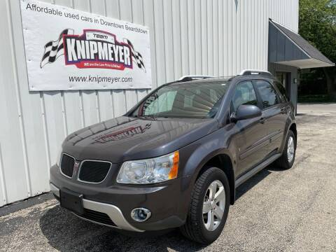 2008 Pontiac Torrent for sale at Team Knipmeyer in Beardstown IL