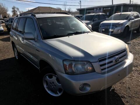 2004 Toyota Highlander for sale at 3-B Auto Sales in Aurora CO