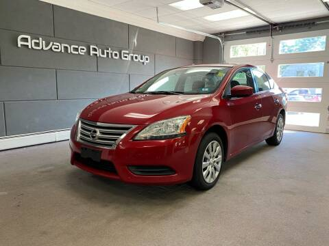 2013 Nissan Sentra for sale at Advance Auto Group, LLC in Chichester NH