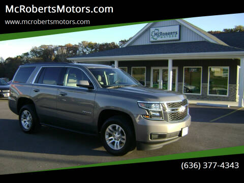 2017 Chevrolet Tahoe for sale at McRobertsMotors.com in Warrenton MO