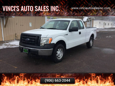 2012 Ford F-150 for sale at Vinci's Auto Sales Inc. in Bessemer MI