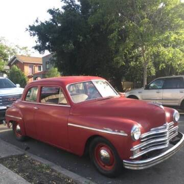 1949 Plymouth Deluxe for sale at Classic Car Deals in Cadillac MI