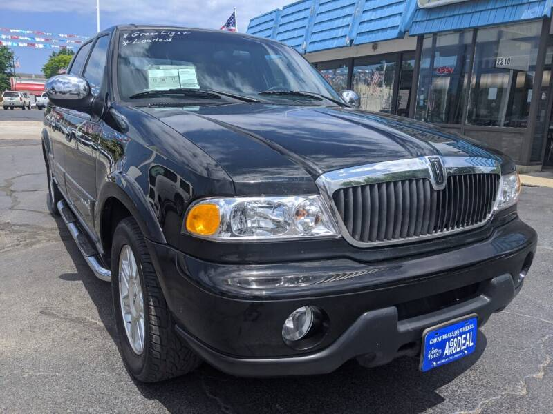 2002 Lincoln Blackwood for sale at GREAT DEALS ON WHEELS in Michigan City IN