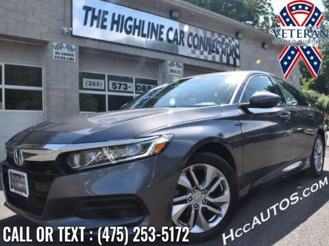 2018 Honda Accord for sale at The Highline Car Connection in Waterbury CT