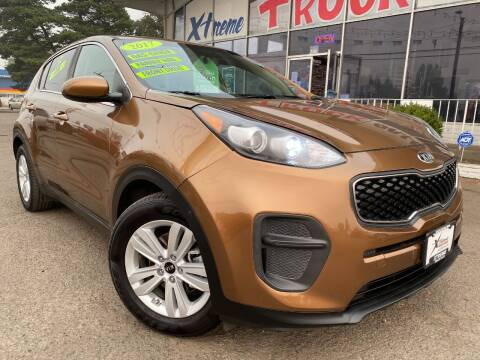 2017 Kia Sportage for sale at Xtreme Truck Sales in Woodburn OR