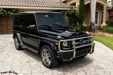 2015 Mercedes-Benz G-Class for sale at Premier Auto Group of South Florida in Wellington FL
