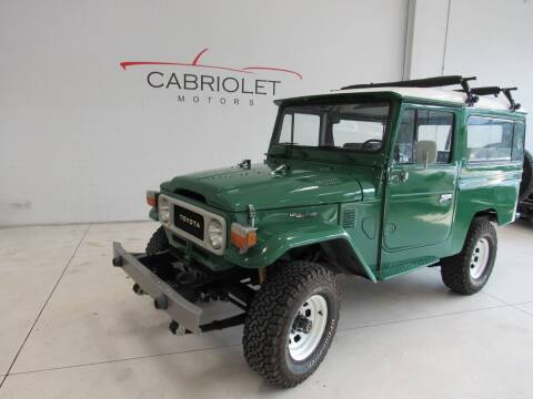 1983 Toyota Land Cruiser for sale at Cabriolet Motors in Morrisville NC