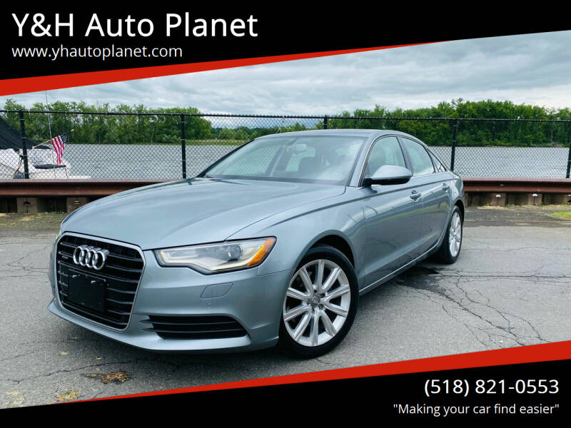 2013 Audi A6 for sale at Y&H Auto Planet in West Sand Lake NY