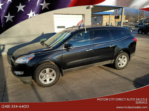 2012 Chevrolet Traverse for sale at Motor City Direct Auto Sales & Service in Pontiac MI