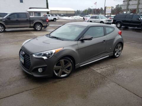 2013 Hyundai Veloster for sale at Rum River Auto Sales in Cambridge MN