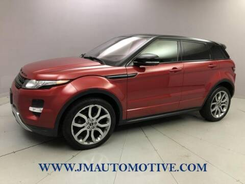 2012 Land Rover Range Rover Evoque for sale at J & M Automotive in Naugatuck CT