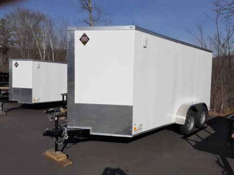 2021 Peach Cargo 7x14 Enclosed Trailer for sale at Mascoma Auto INC in Canaan NH